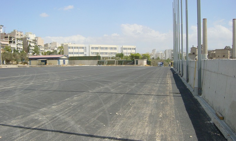 Ανακατασκευή Εθνικού σταδίου Κερατσινίου και βελτίωση αθλητικών χώρων του δήμου