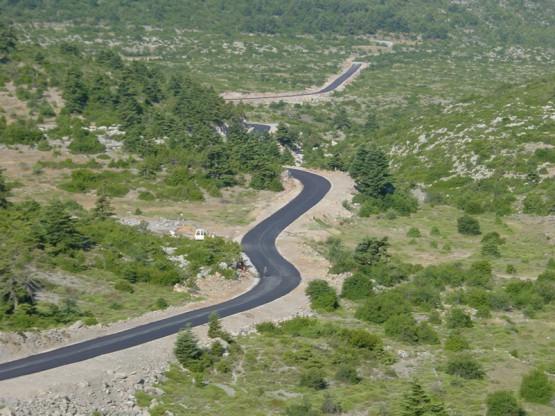 Δρόμος Κρεμαστή - Πελετα