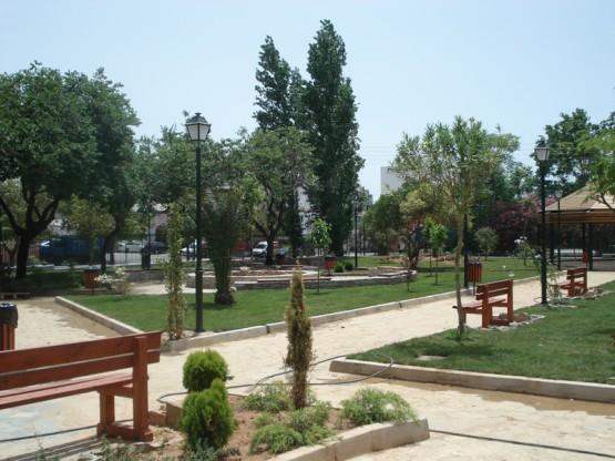 Διαμόρφωση χώρου του Σεράφειου κολυμβητηρίου στο Ρουφ