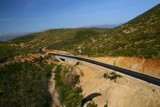 Πυρόπληκτες περιοχές νομού Λακωνίας - Έργα προστασίας στο ρέμα Δοχνιας