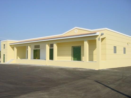 Νέο κτίριο απεντόμωσης και αποθήκευσης σύκων